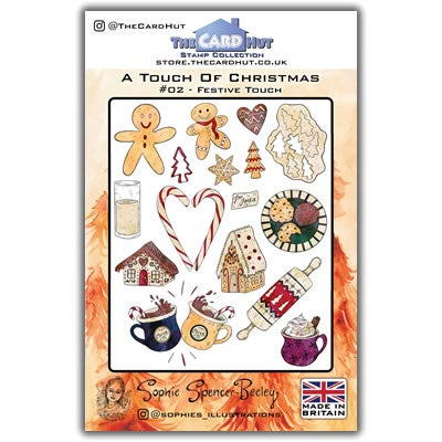 Image of Festive Touch Christmas Stamp Set