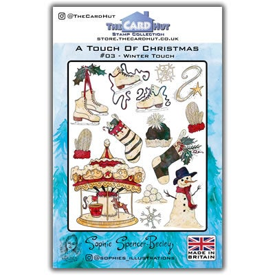 Image of Winter Touch Christmas Stamp Set