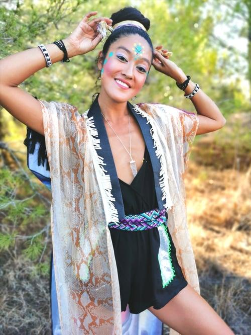 Image of RebirthingPortal Silk Kimono