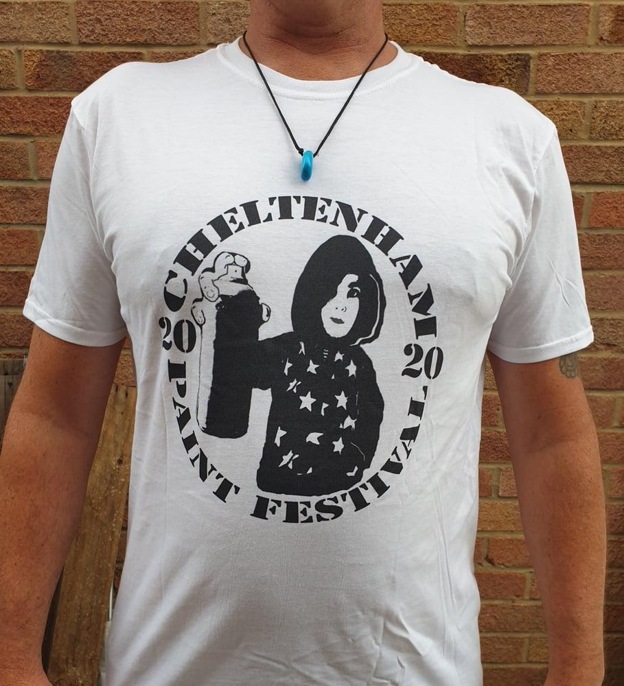Image of Cheltenham Paint Festival tee