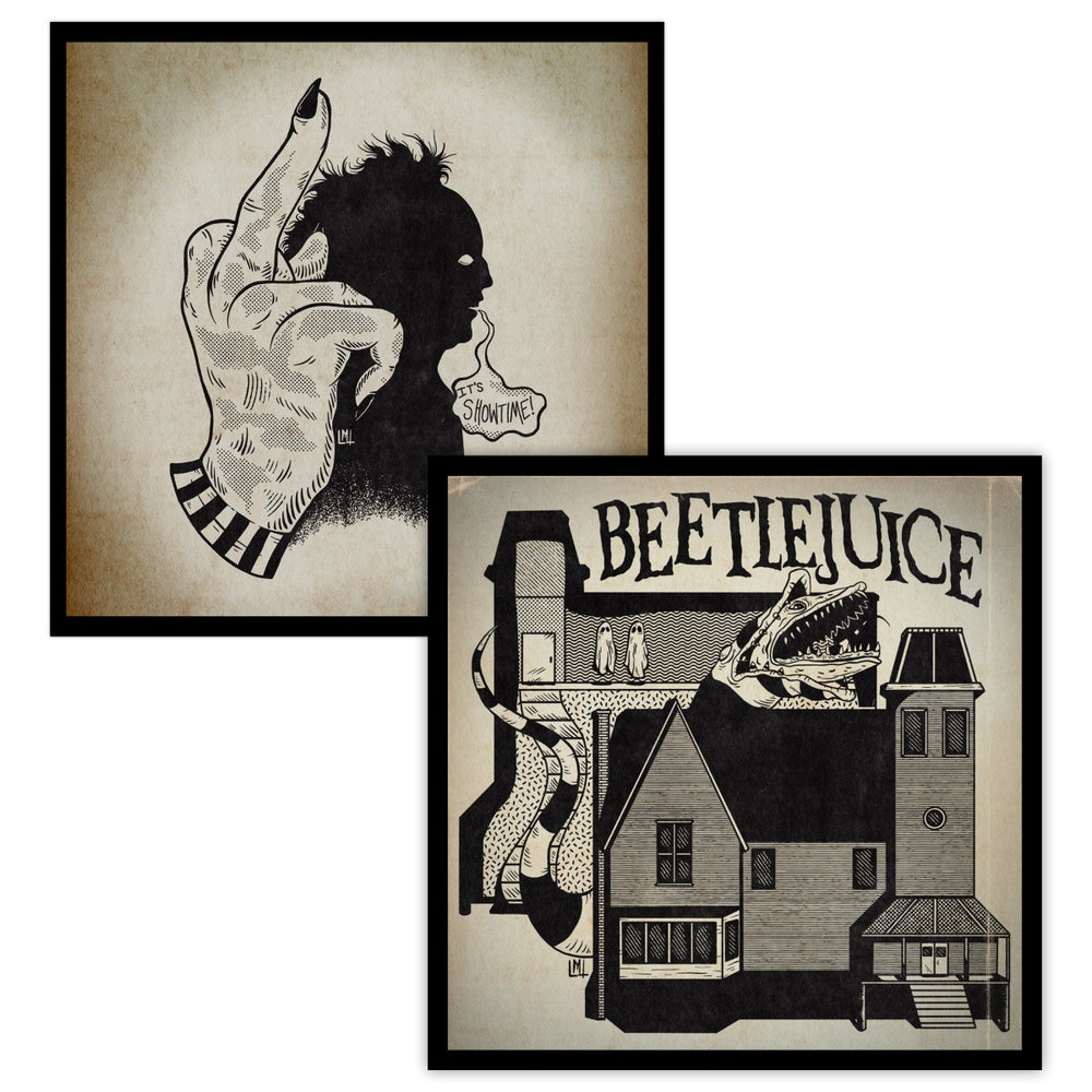 Image of Beetlejuice 8 x 8 Print 2-Pack