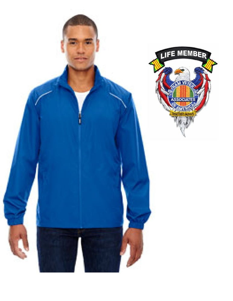 Image of Men's AVVA Jacket with Eagle/Associates patch and Life Member Tab