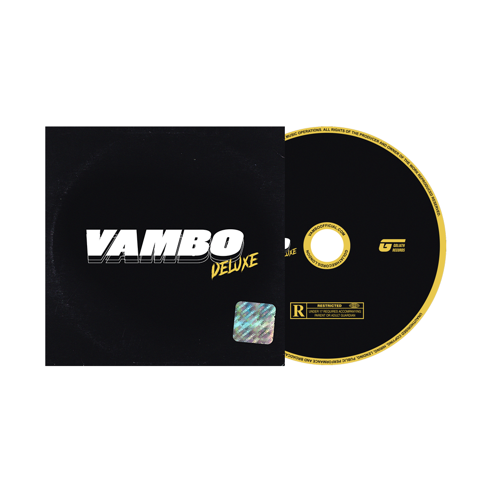 Image of Vambo Deluxe [CD] (signed)
