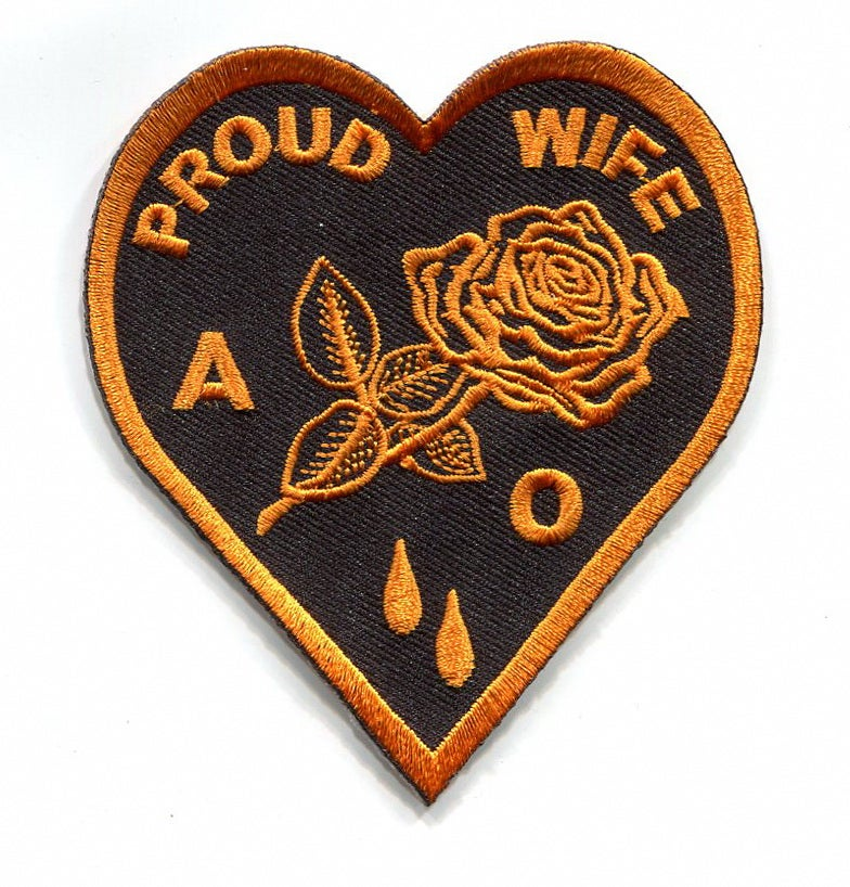 Image of Agent Orange Proud Wife Patch