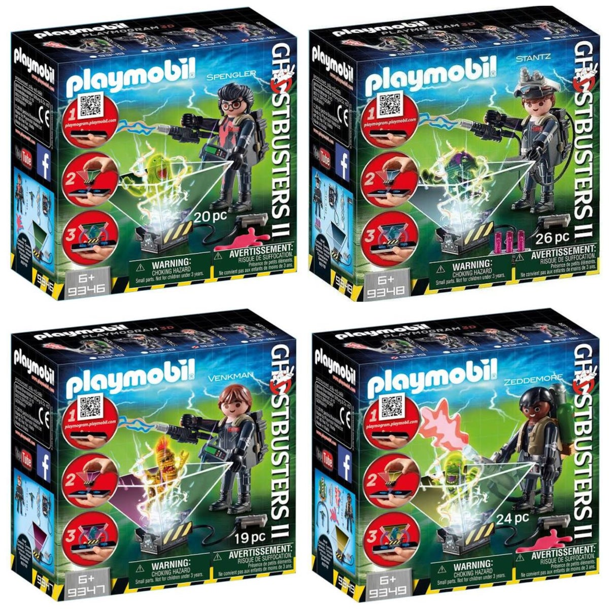 Image of Playmobil Ghostbusters2 Bundle