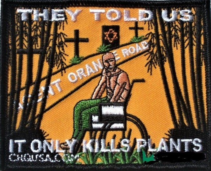 Image of Agent Orange Patch