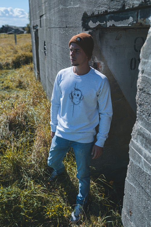 Image of Monkey Climber Scratch The Surface crewneck I Cream
