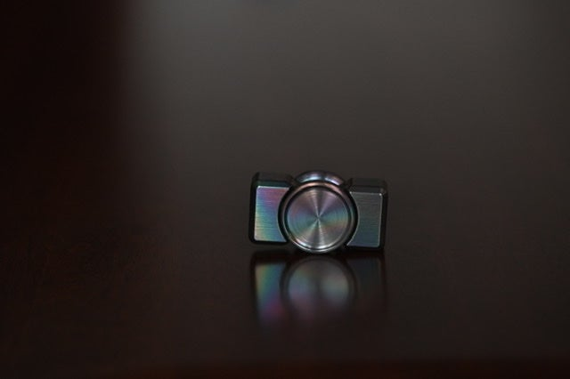 Image of Zirc brushed collision mini oil slick and black