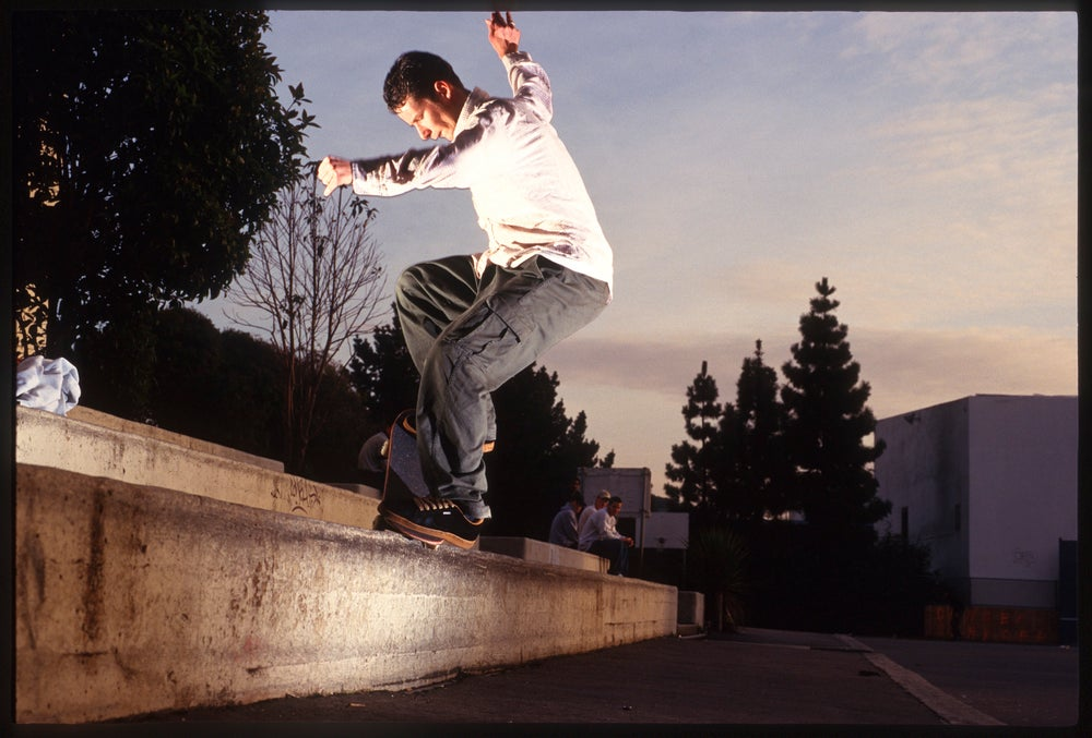 Simon Evans, Wallenberg, San Francisco 1995 by Tobin Yelland