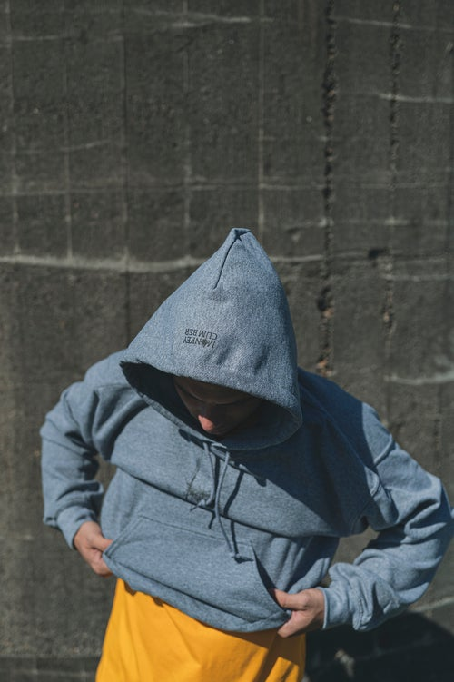 Image of Monkey Climber Scratch The Surface hoodie I Mid Heather Grey