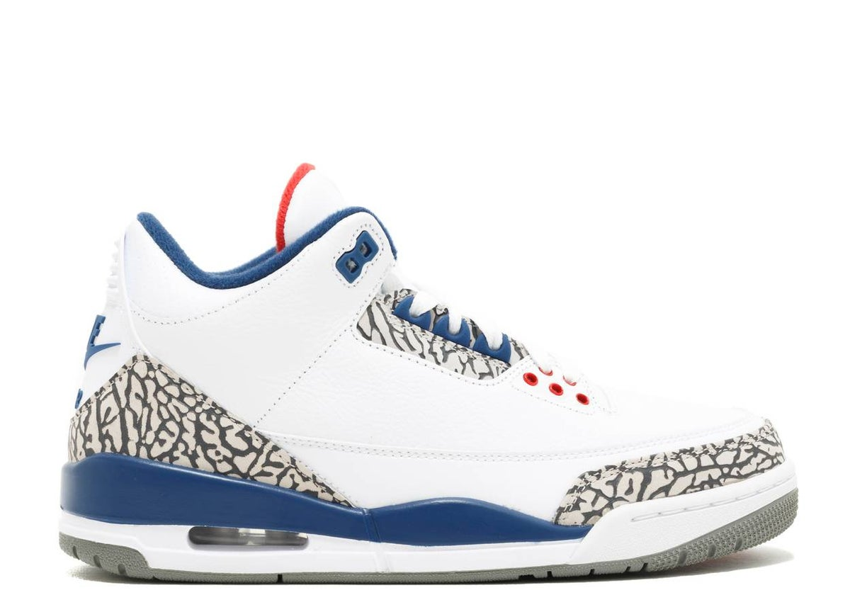 Image of AIR JORDAN 3 RETRO OG 'TRUE BLUE' 2016