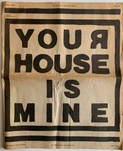 Image of Your House Is Mine Newspaper