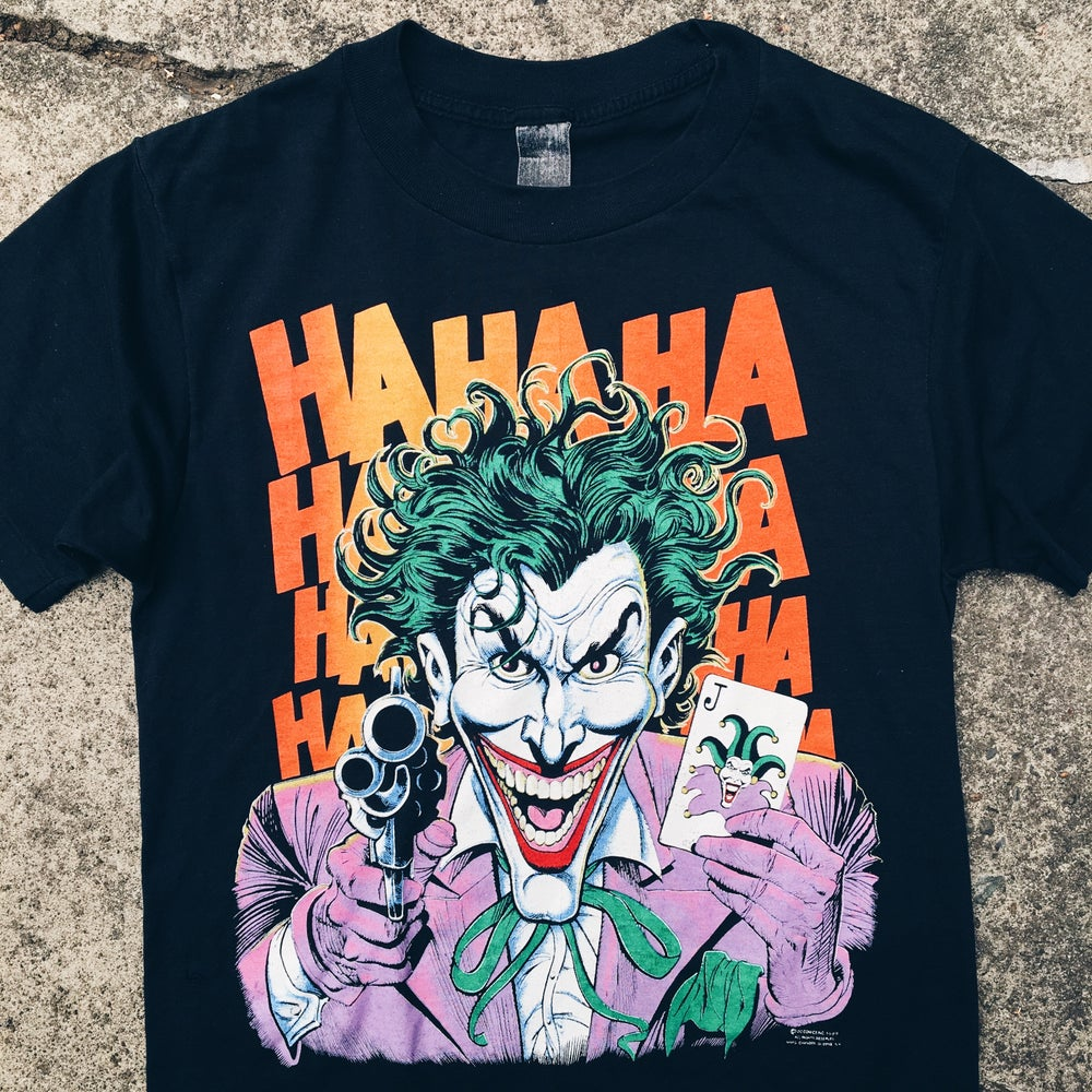Image of Original 1989 The Joker Tee.
