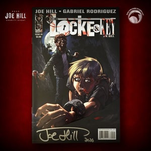 """Image of JOE HILL 2020 CHARITY EVENT: SIGNED """"Welcome to Lovecraft"""" #5"""