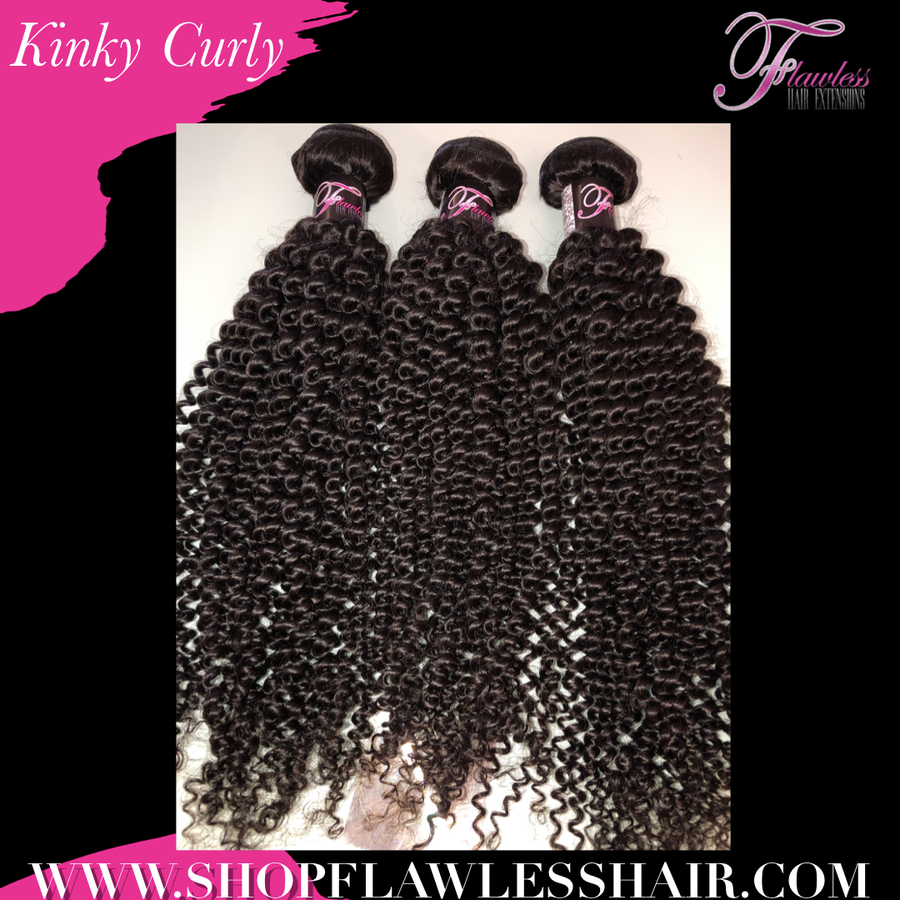 Image of Peruvian Kinky Curly - Flawless Collection