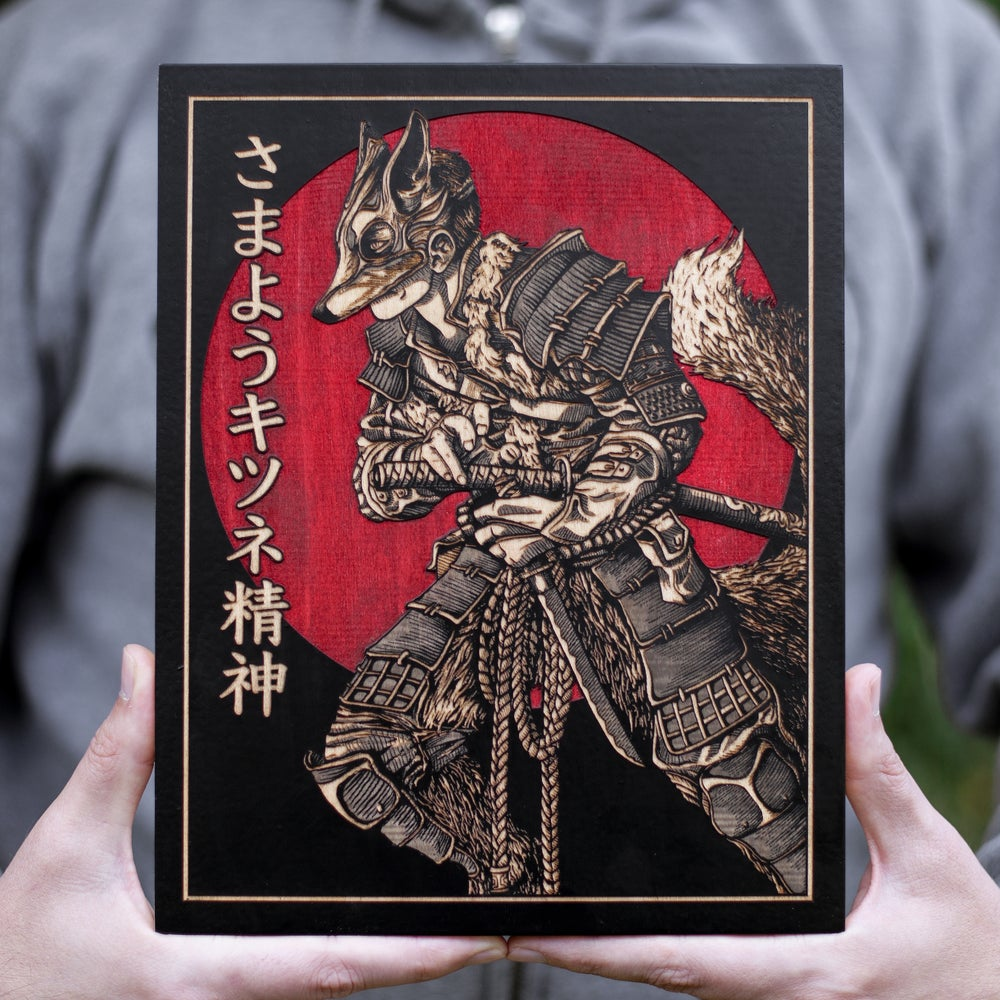Image of Kitsune - Maple Variant - Edition of 20
