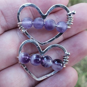 Image of Amethyst Heart