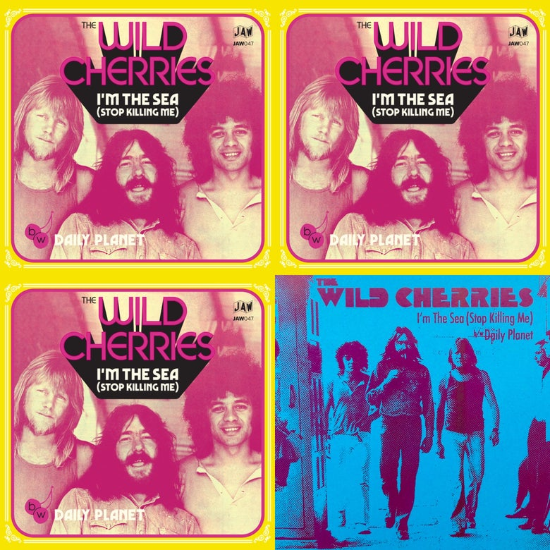 "Image of THE WILD CHERRIES 7""  MEGA and TRIPLE PLAY bundles"
