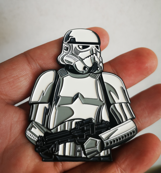 "Image of Stormtrooper 2.5"" Lapel Pin"