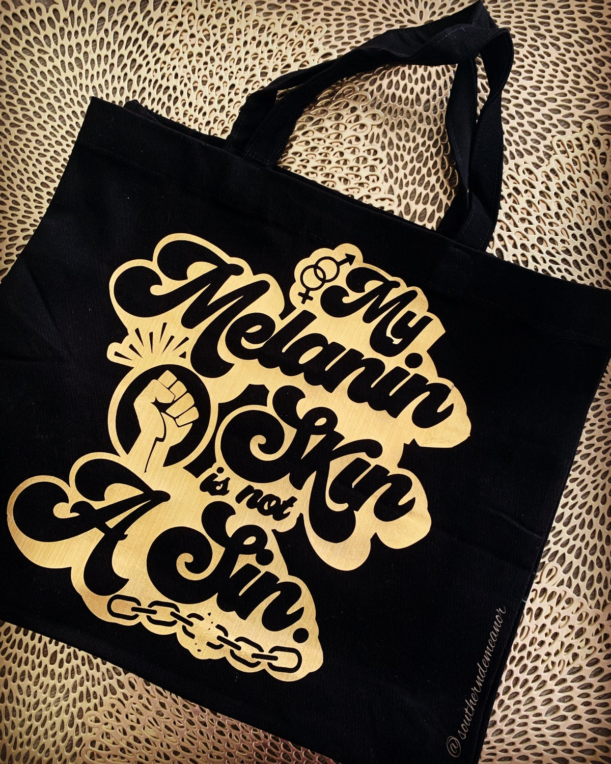 Not A Sin (Tote Bag)