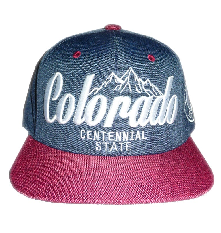Image of COLORADO CENTENNIAL STATE SNAPBACK HAT