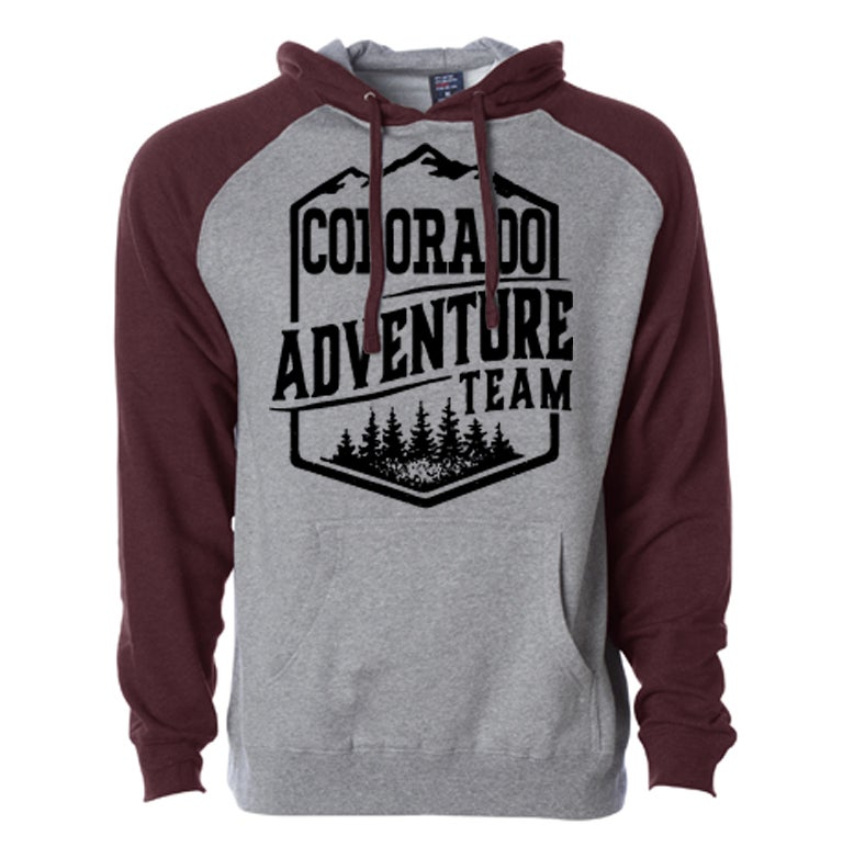 Image of COLORADO ADVENTURE TEAM DUO TONE HOODIE