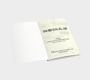 Nomad Vintage Travel Journal