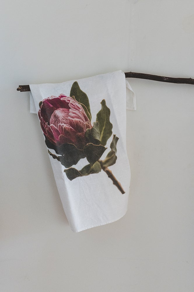 Image of Flora and Feathers Tea Towels