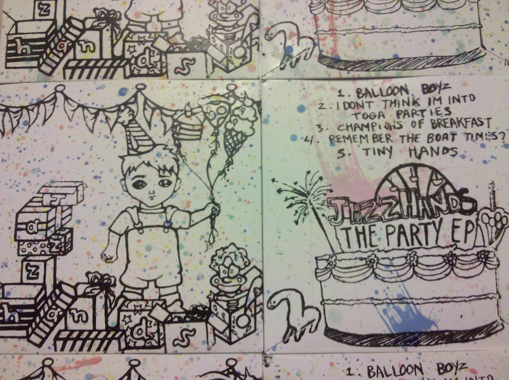 Image of Jazz Hands - The Party EP