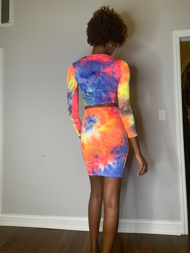 Image of Suki 2 pc tye dye set