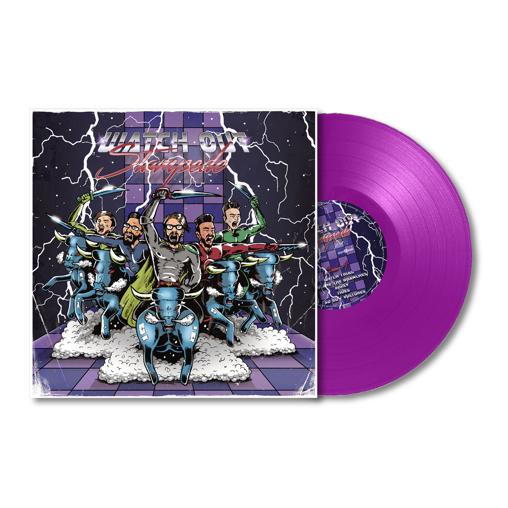 Image of Watch Out Stampede Vinyl (2018)