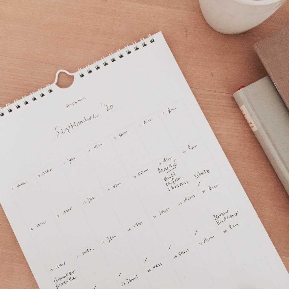 Image of One year calendar