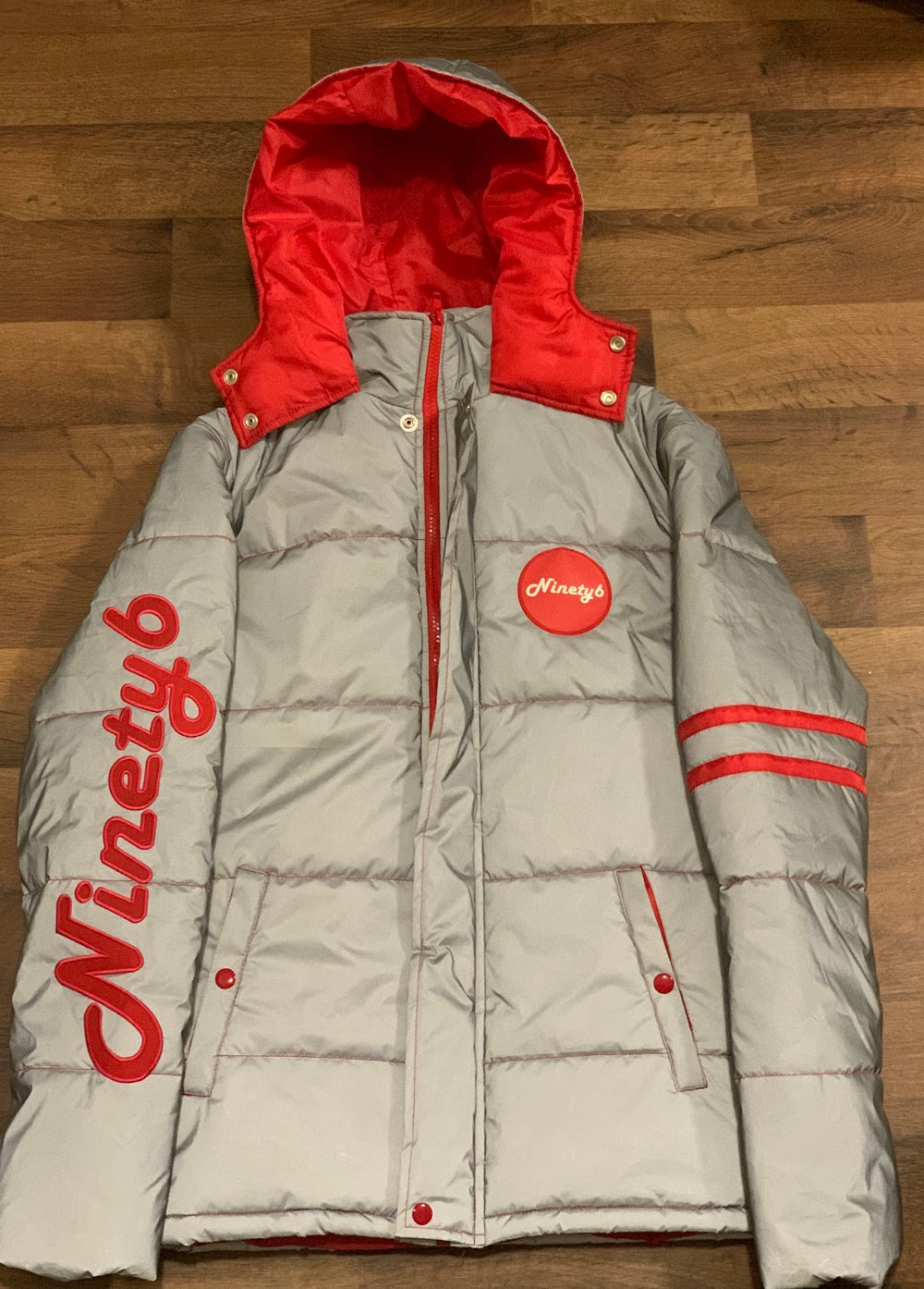 Image of Ninety6 3M Reflective Puffer Coat