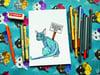 Original Artwork: Rude Cat - SILENTLY JUDGING YOU
