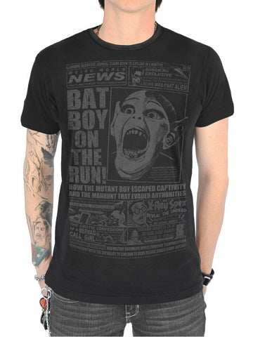 Image of SERPENTINE CLOTHING Batboy Men's T-Shirt