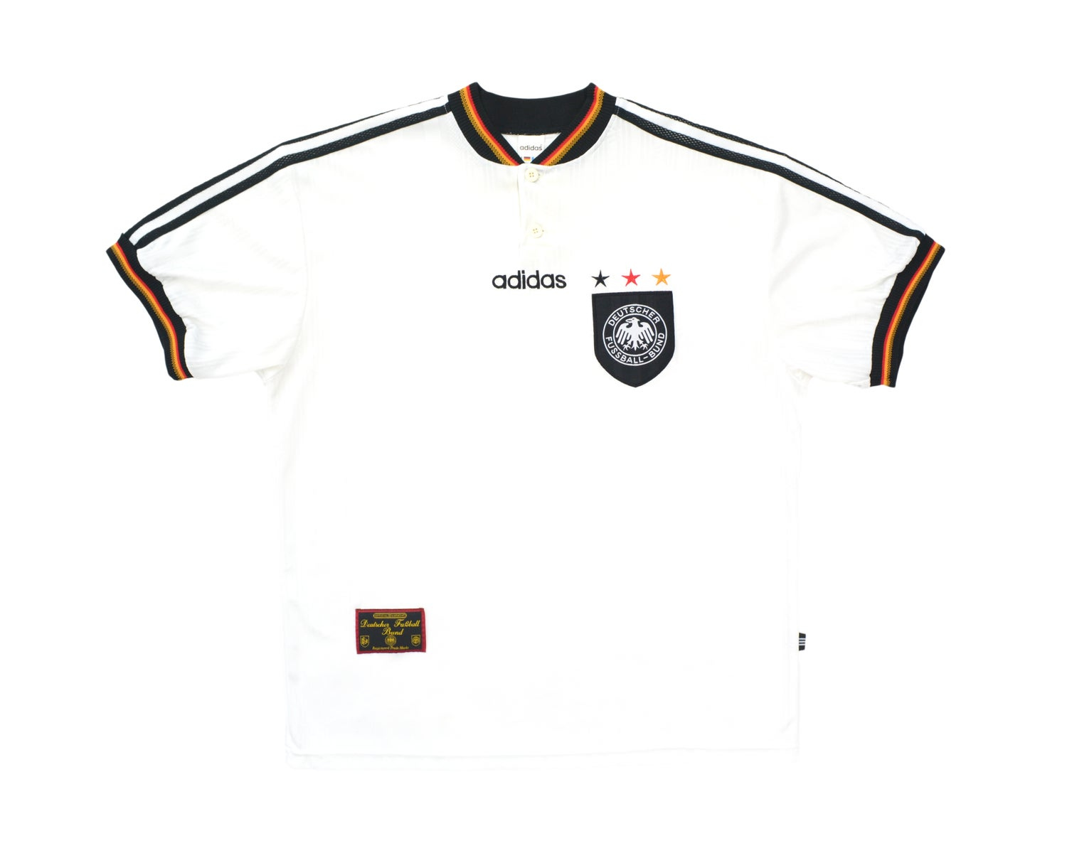 Image of 1996-98 Adidas Germany Home Shirt XL