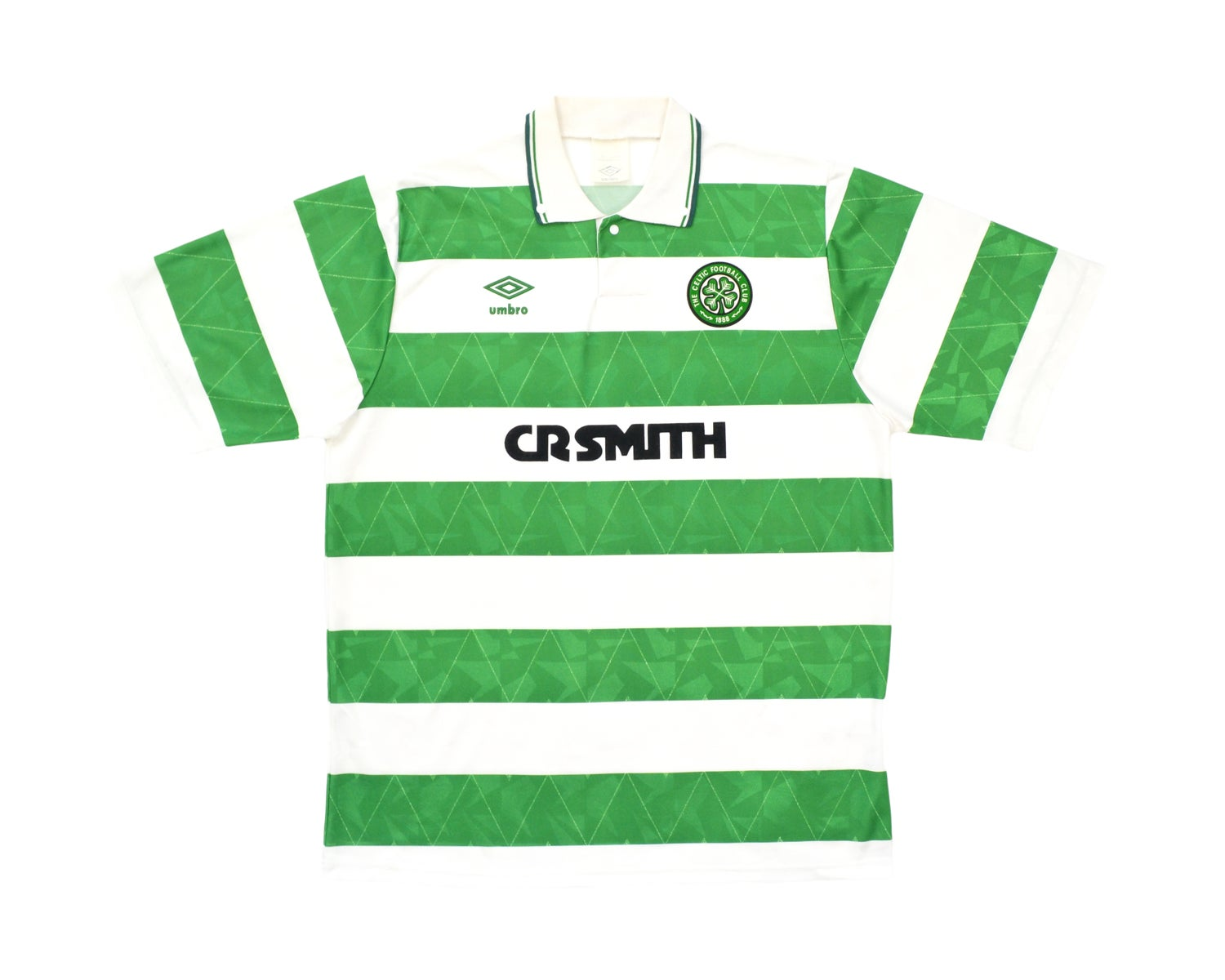 Image of 1989-91 Umbro Celtic Home Shirt L
