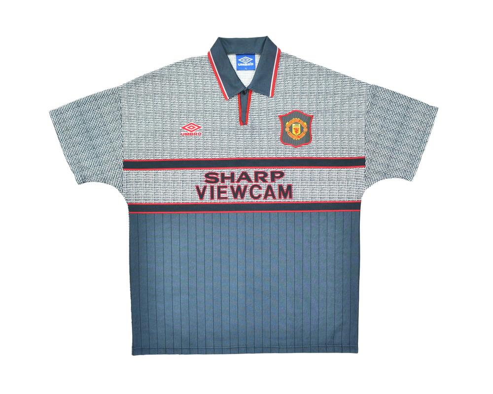 Image of 1995-96 Umbro Manchester United Away Shirt XL