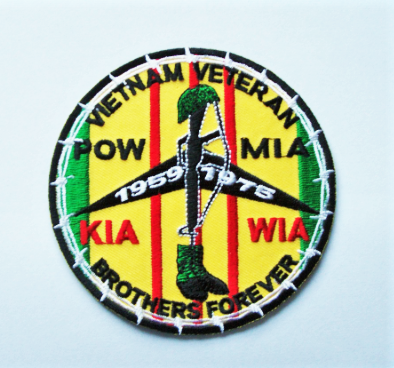 Image of Vietnam Veteran Brothers Forever patch