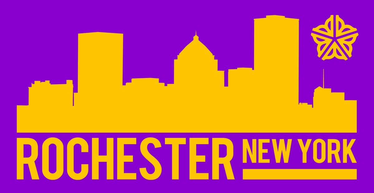 Image of Rochester Skyline Sticker