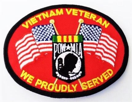 Image of Vietnam Veteran POW MIA Patch