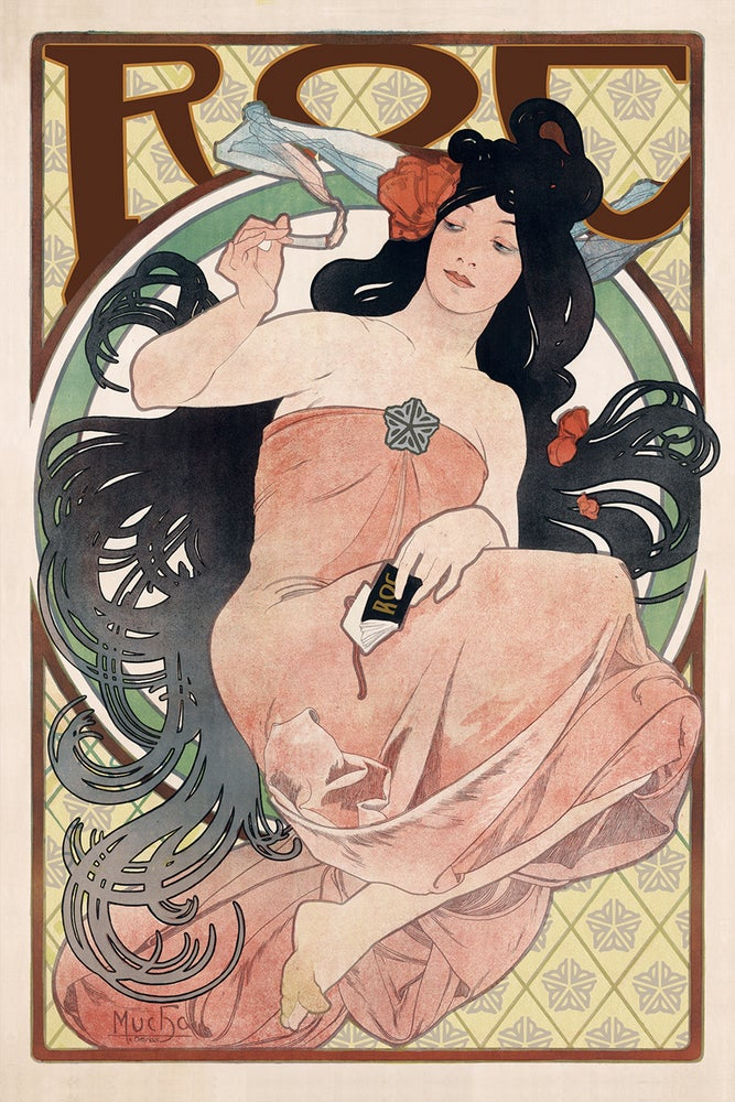 Image of Mucha ROC Sticker