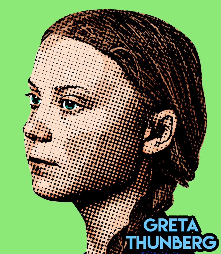 Image of Greta Thunberg Sticker