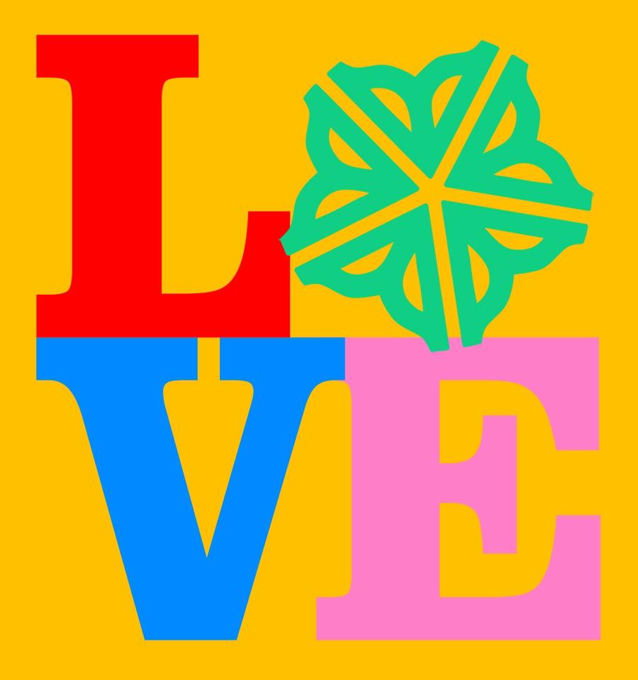 Image of Roc LOVE Sticker