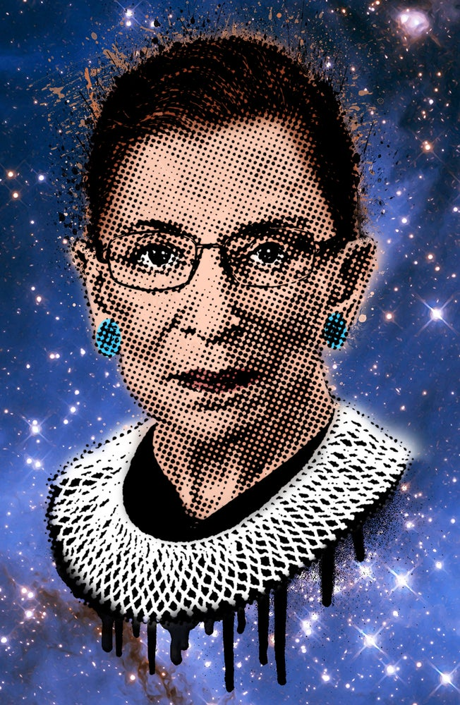 Image of RBG Space Sticker