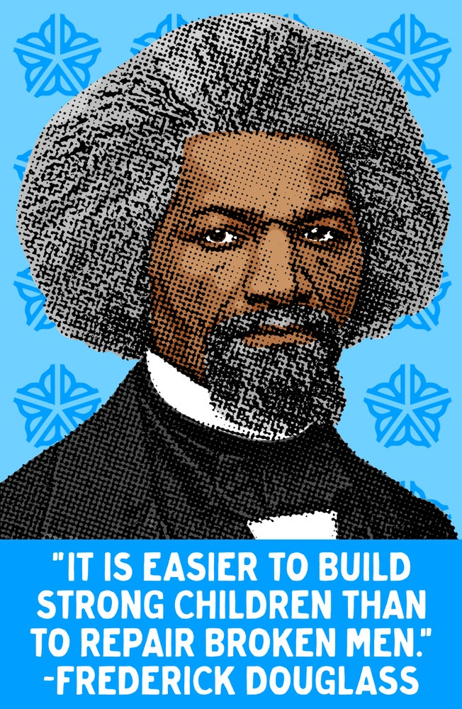 Image of Douglass Quote Sticker