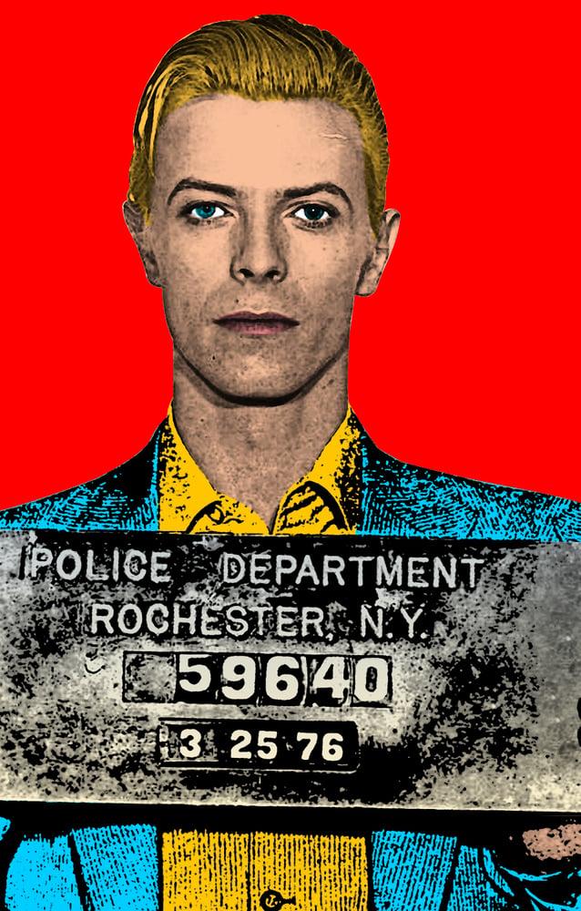 Image of David Bowie Sticker