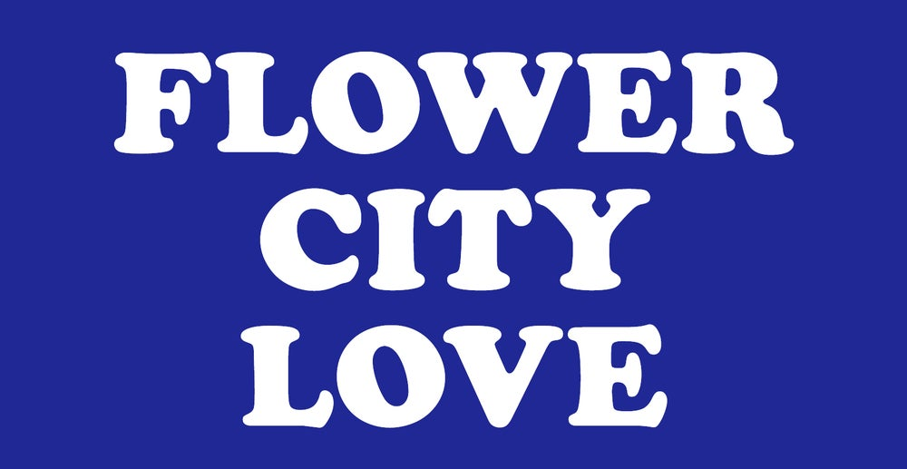 Image of Flower City Love Sticker