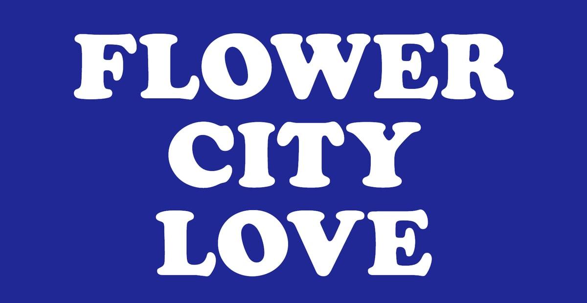 Image of Flower City Love Sticker