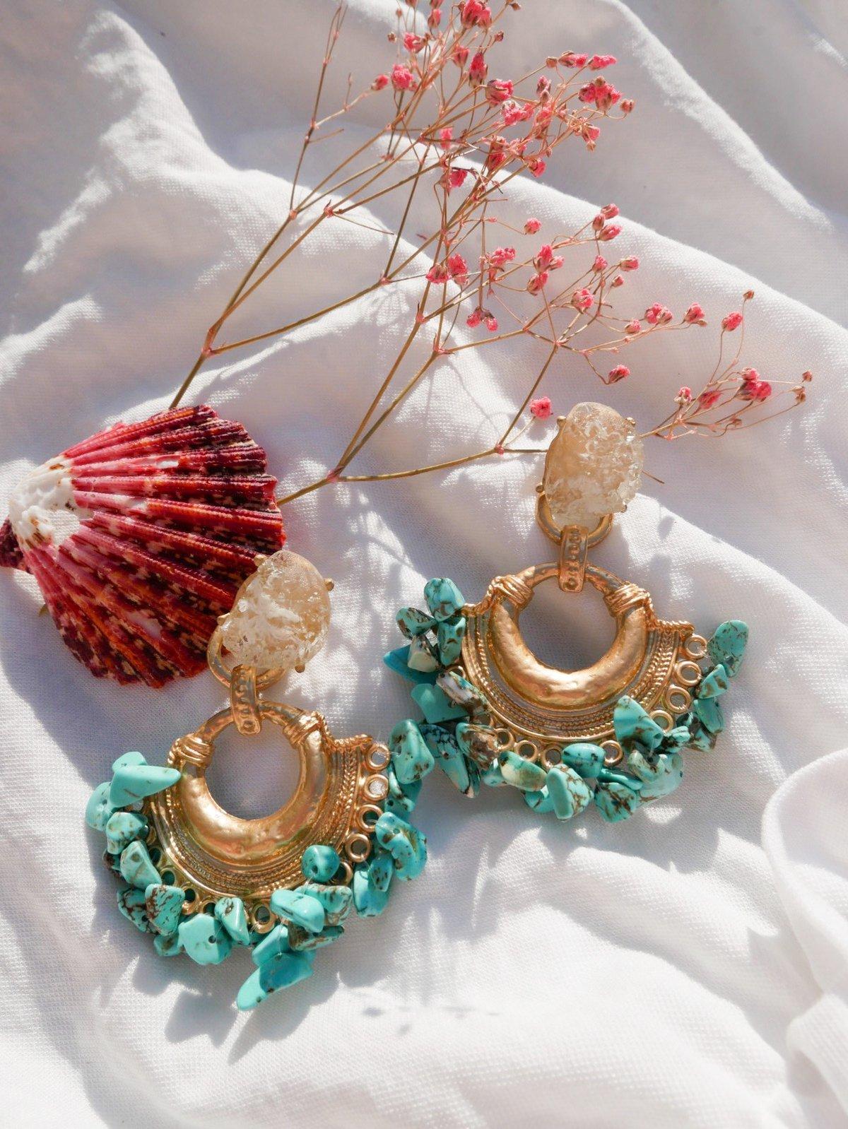 Turquoise Coast Earrings